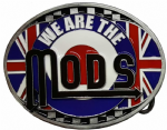 Mods Belt Buckle with display stand. Code HK1